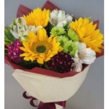 Sunflowers bouquet (small)
