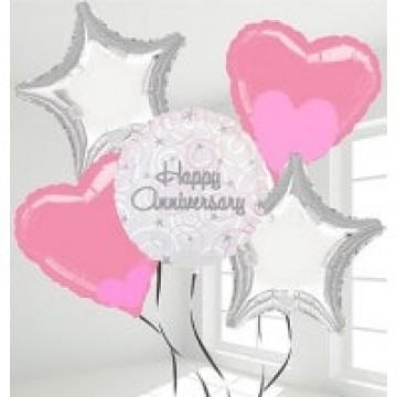 Select this n indicate balloon choice in (Message To Store) 6-I Love You, 7-Happy Anniversary, 8-Star shape, 9-Heart shape