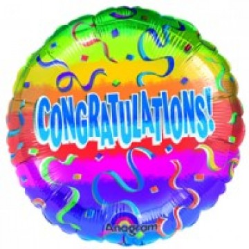 Congrats Balloon 22cm