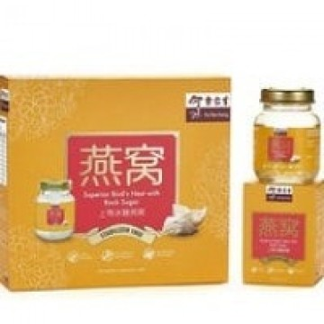 EuYanSang Superior Bird's Nest with Rock Sugar 70g x 6 bottles