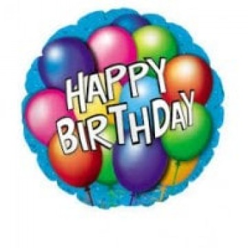 Happy Birthday Balloon 22cm