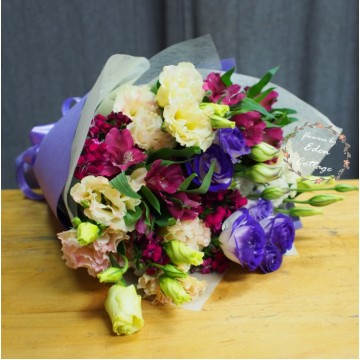Eustoma Bouquet EHB1
