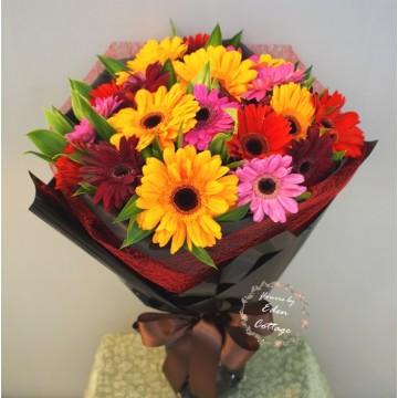 Gerbera Bouquet GHB5