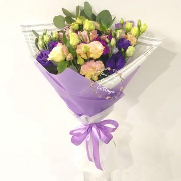 Eustoma Bouquet HBE1