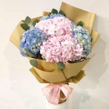 Hydrangea Bouquet HBH12