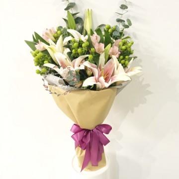 Lily Pink Bouquet HBL7