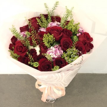 Roses Red Bouquet HBR14