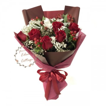 Roses Red Bouquet HBR1