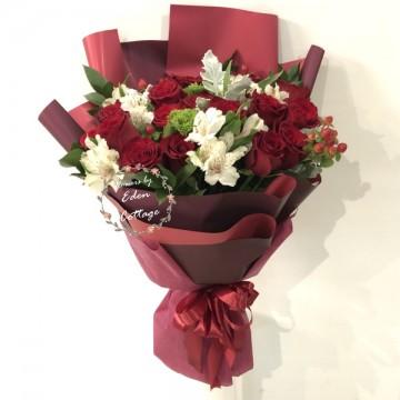 Roses Red Premium Bouquet HBR20