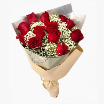 Roses Red Classic Bouquet HBR5