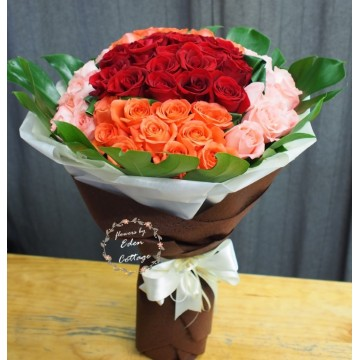 Roses 60 Mix Bouquet RHB17