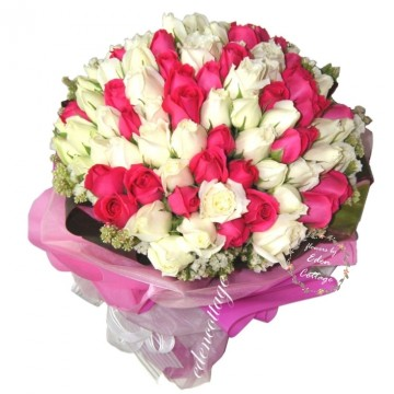 Roses 99 bouquet RHB21