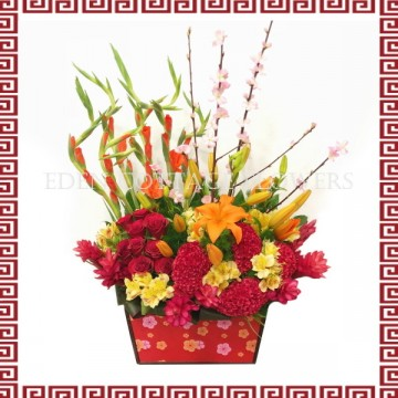 CNY Floral Arrangement CNF12