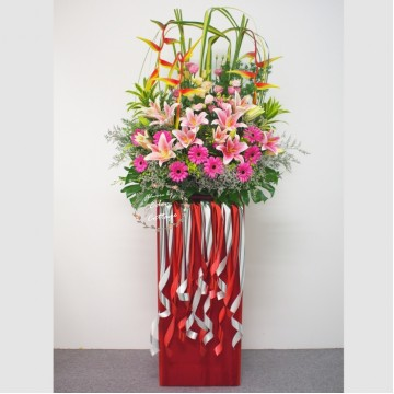 Congratulation Floral Stand CS17