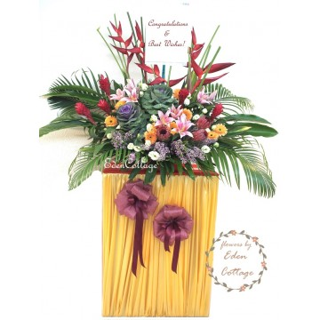 Congratulation Floral Stand CS28