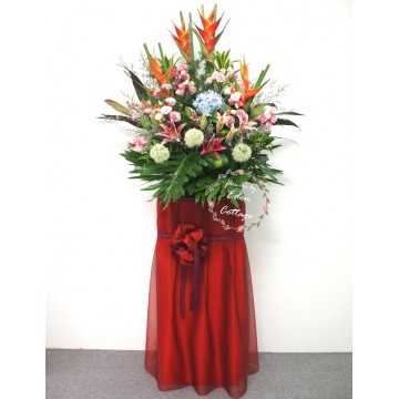 Congratulation Floral Stand CS34