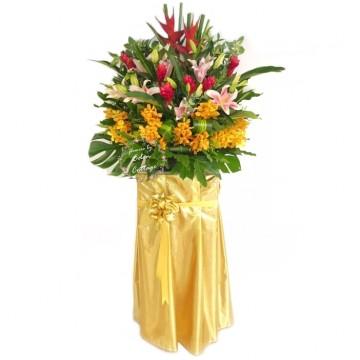 Congratulation Floral Stand CS41