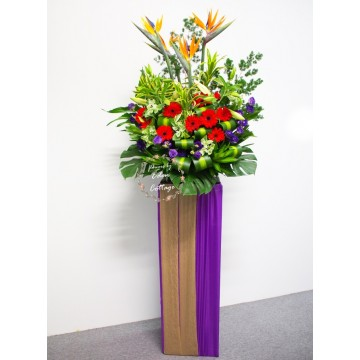 Congratulatory Floral Stand CS05