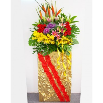 Congratulation Floral Stand CS26
