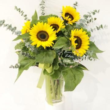 Sunflowers In Vase FAV14