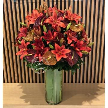 Flowers In vase FAV28