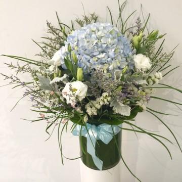 Hydrangea In vase FAV3