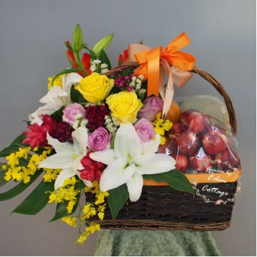 Fruit Flower Basket FF13