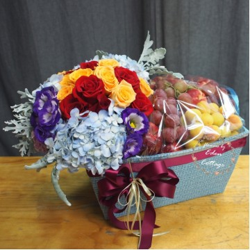 Fruit Flower Basket FF14