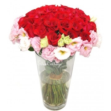 Red Rose Table Flowers TF26