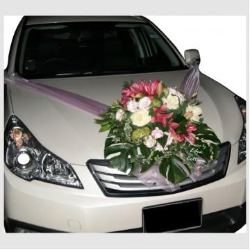 Modern Bridal Car Decorations