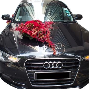Luxury Bridal Car Decorations
