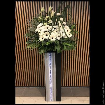 Sympathy Flower Stand CW03