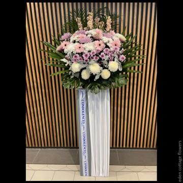 Sympathy Flower Stand CW06
