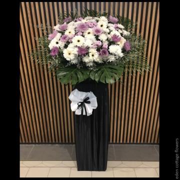 Sympathy Flower Stand CW07