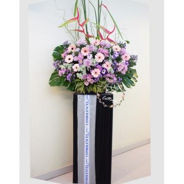Sympathy Flower Stand CW12