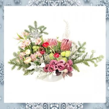 Christmas Floral Arrangement XMF6