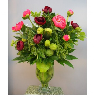 Table Flowers Premium Peony TFP14