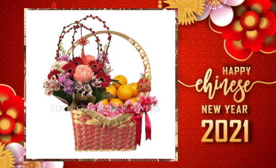 CNY Flowers and Mandarin Oranges 2021